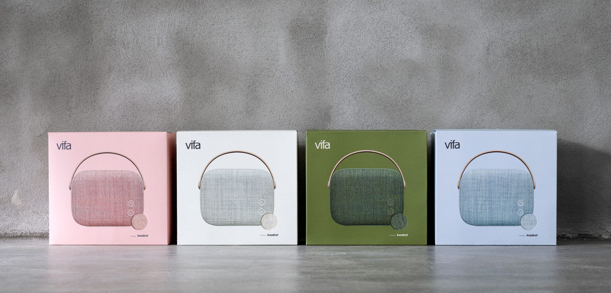 Vifa Helsinki speakers' packaging